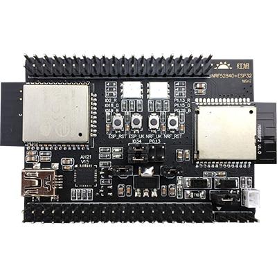 Carte de développement Nrf52840 + ESP32 Mini prend en charge ZigBee/BLE5.0/WIFI