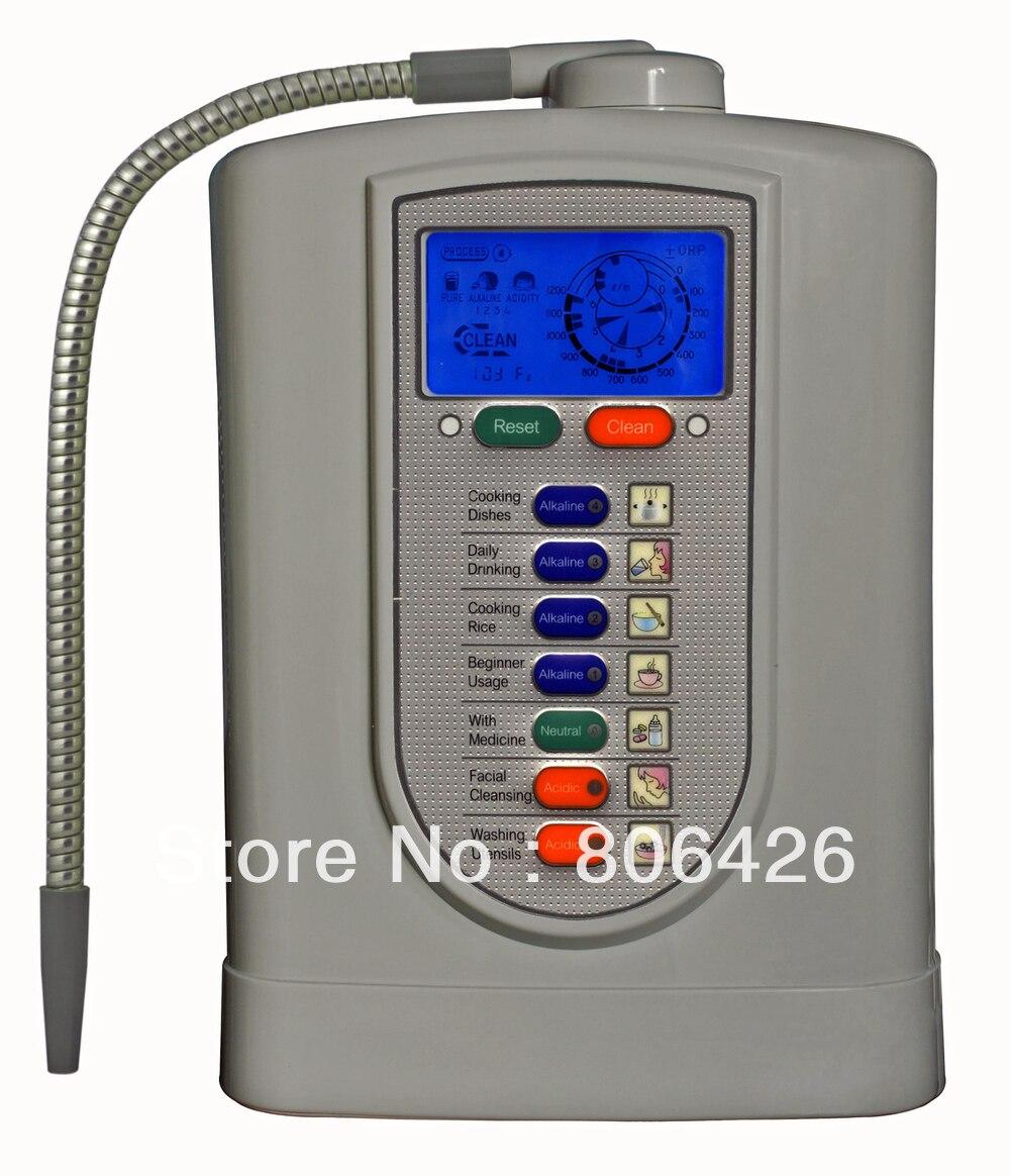Ioniseur hydrogénalcalin/eau ionique/eau réduite/eau cathodique/eau kangen (usine JapanTechTaiwan) filtre à fibre de carbone intégré