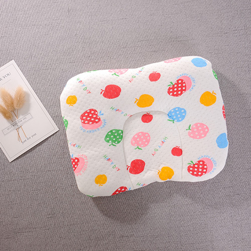 Infant Newborn Baby Shaping Pillow With Memory Foam To Prevent Flat Head And Anti Roll 4