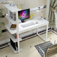 SUFEILE Home Computer Desk Laptop Stand Office Study Writing Desk New Design For Working Standing Laptop Computer Desk D50