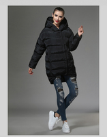 2016 Women S Casual Style Thick Down Jacket Large Size New Winter Coat Simple Atmospheric