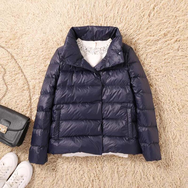 Ultra Light 90% White Duck   Down   Jacket Women Winter   Coat   2019 Thin Female Fashion Warm Jacket Windproof   Down     Coat   LP047