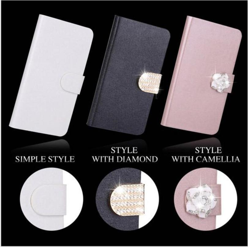 Flip Stand Book Style Seidenetui Capa Für Samsung Galaxy S2 S3 S4 S5 - Handy-Zubehör und Ersatzteile - Foto 2