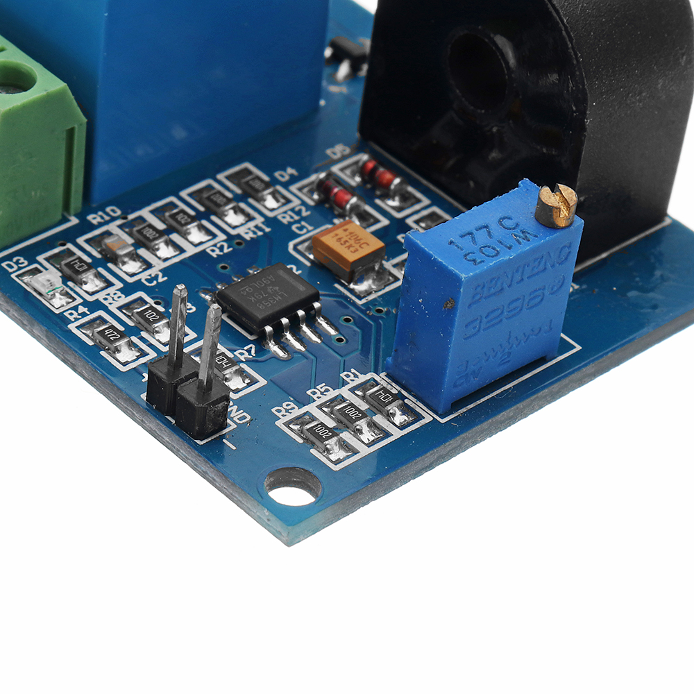 Dc 12v 5a Overcurrent Protection Sensor Module Ac Current Detection Electrical Relay Switch Output In Sensors From Electronic Components Supplies On