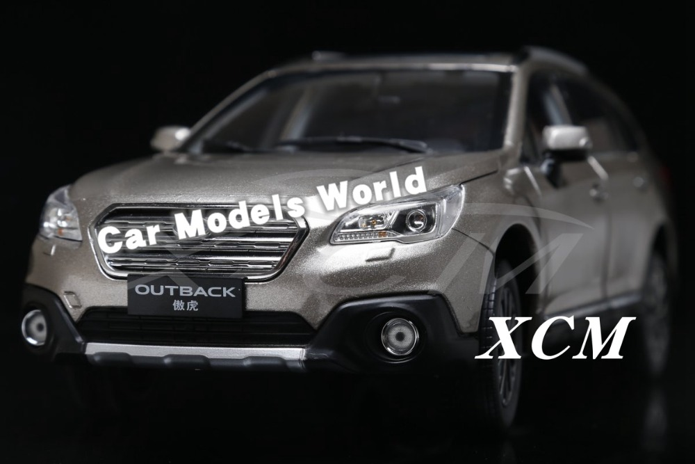 Diecast Car Model for Outback 1 18 Gold SMALL GIFT