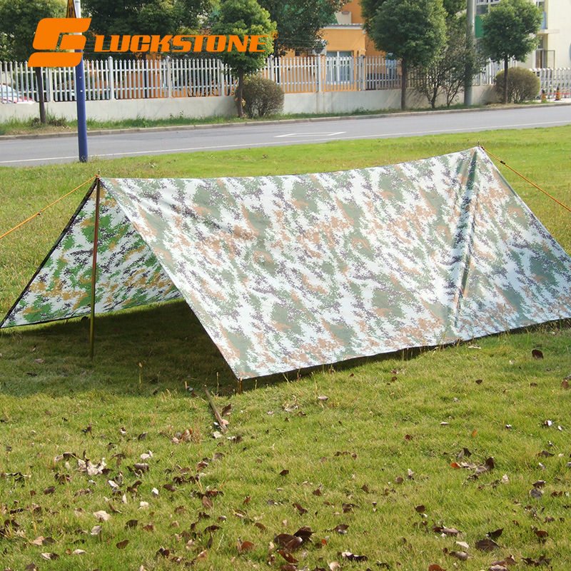 3M*3M Ultralight Sun Shelter Outdoor Camping Travel  Beach Tent Awning Multi-function Mat Foldable Waterproof Sunshelter Shade high quality outdoor 2 person camping tent double layer aluminum rod ultralight tent with snow skirt oneroad windsnow 2 plus