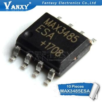 10 sztuk MAX3485ESA SOP8 MAX3485E SOP MAX3485 SMD RS-485/RS-422 transceivery nowy i oryginalny