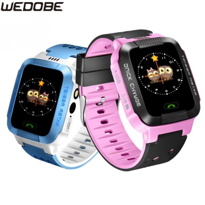 Anti Lost Smart Watch Luxury High Definition Touch Screen