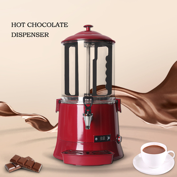 ITOP 10L Hot Chocolate Dispenser Machine Commercial Chocolate Coffee Coco MilkTea Dispenser Machine Electric Heating System hot sale commercial mini kitchen appliance table counter top 5 liter chocolate melting machine for drink dispenser