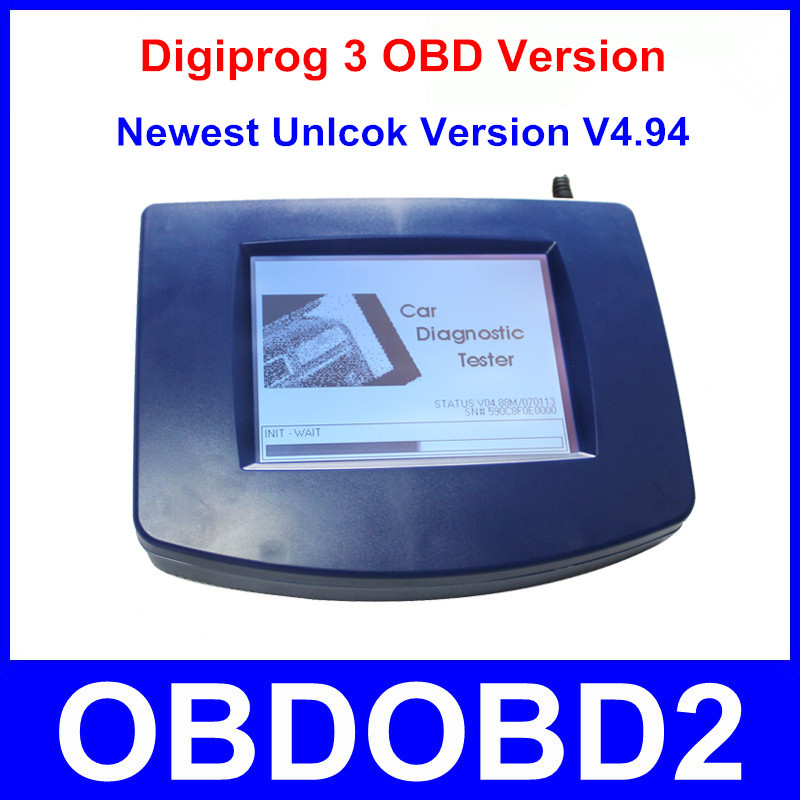 Digiprog 3 OBD Version Odometer Correction Tool Digiprog III Main Unit ONLY Digiprog3 Odometer Programmer OBD2