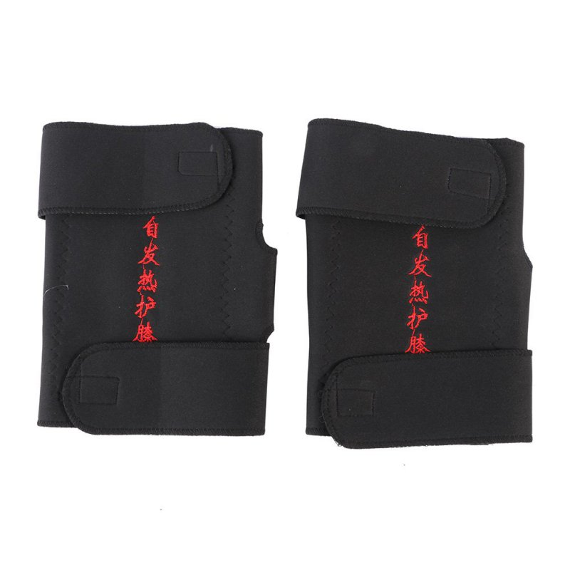 Turmaline Self-heating Knee Bearings Magnetic Infrared Remote Therapy Spontaneous Heating Pad for Outdoor Sport Home Health Care