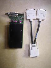 90% новый NVS300 X16 BV456AA 625630-001 632827-001 видеокарта с кабелем адаптера DVI