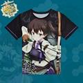 Anime Kantai Collection Kaga T-shirt Kancolle Polyester T Shirt Summer Active Otaku Men Women Tops