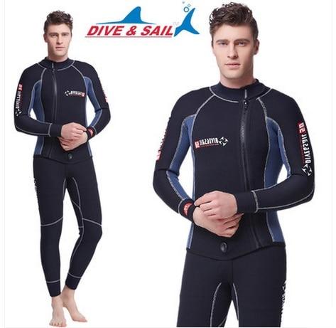 5MM ronilačko odijelo s dvodijelnim dugim rukavima cijelo tijelo - Sportska odjeća i pribor