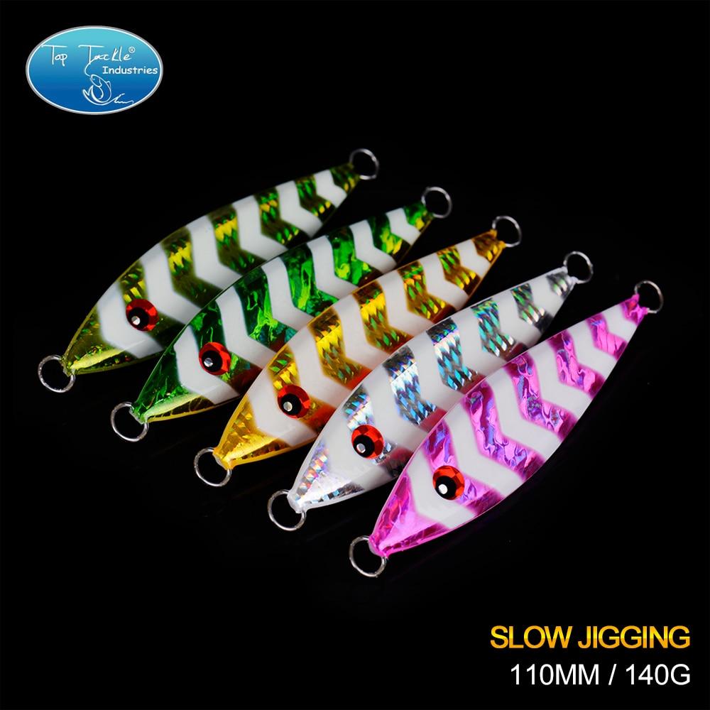 2017 New Arrival NANYOU 2 Shaking Metal Jig Slow Jigging Luminous Fishing Lure 140G