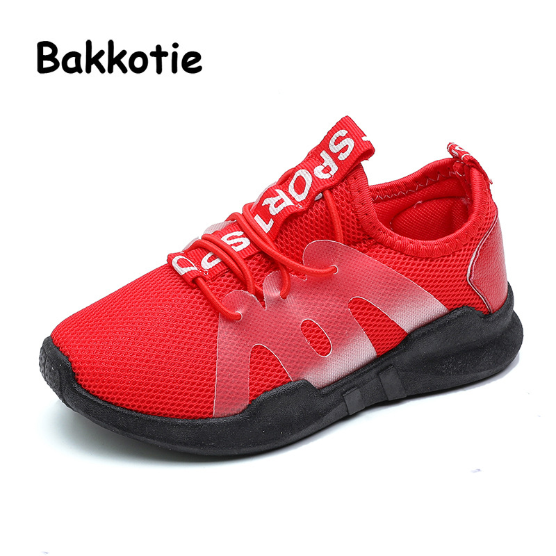 Bakkotie 2018 New Spring Fashion Baby Girl Sport LED Shoes Boy Mesh Casual  Glowing Sneakers Children Tennis Trainer Toddler Shoe d8ccf75f89d3