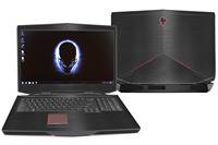 KH Laptop Brushed Glitter Sticker Skin Cover Protector For Alienware 17 R4 ALW17C 17 3 Without