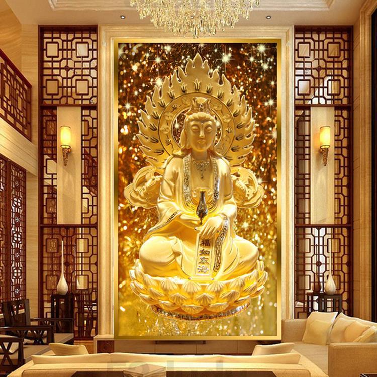 Free Shipping Custom large scenic mural wallpaper TV backdrop sofa bedroom  living room Buddha wallpaper. Compare Prices on Buddha Wallpaper  Online Shopping Buy Low Price