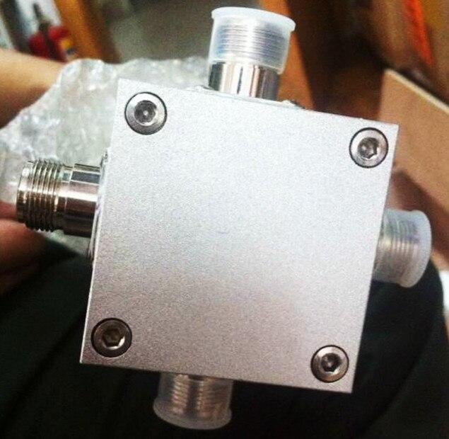 FMUSER FU-P4 2KW 4 voies diviseur de puissance RF diviseur de puissance 87-108 Mhz pour antenne dipolaire FM