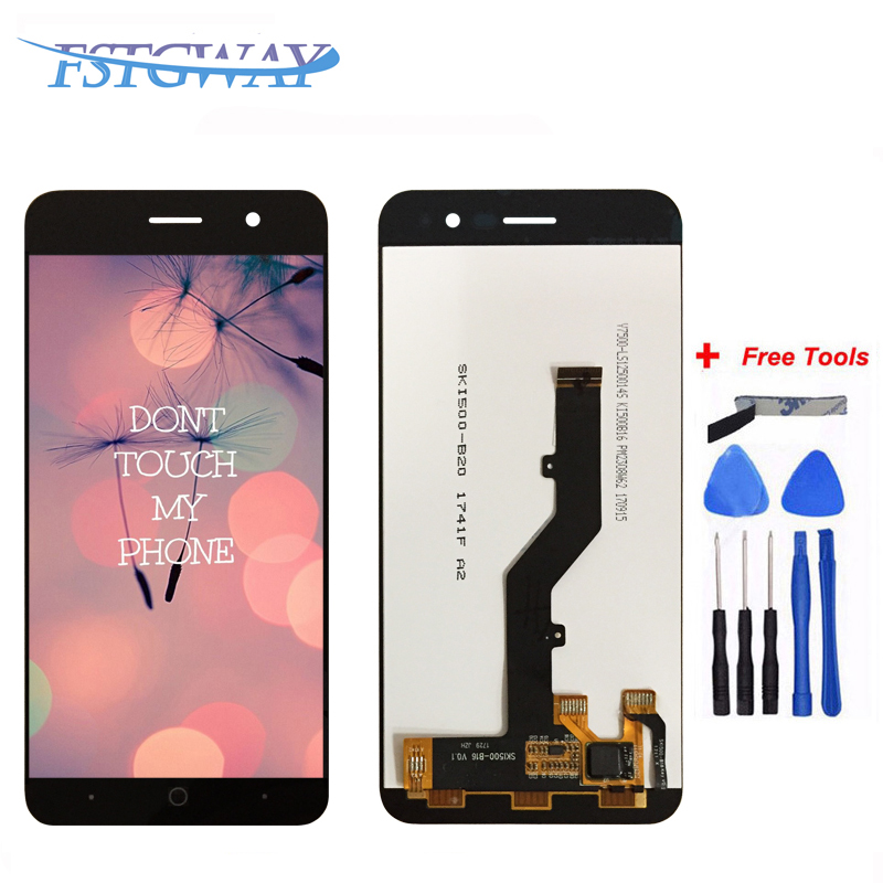 High Quality For <font><b>ZTE</b></font> <font><b>Blade</b></font> <font><b>A520</b></font> LCD Display+Touch <font><b>Screen</b></font> 100% Tested <font><b>Screen</b></font> Digitizer Assembly Replacement For <font><b>ZTE</b></font> <font><b>A520</b></font> image