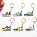 Mix 12pcs/lot DORAEMON New Balanceer 574 Key Chain, Sneaker Keychain Kids Key Rings Key Holder for Woman and Girl Gifts