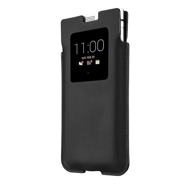 Oryginalna skóra naturalna etui na telefon Blackberry KEYone etui na telefon moda luksusowe ręcznie robione etui na Blackberry PRESS DTEK70