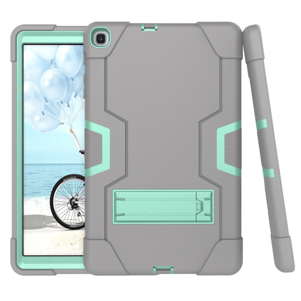 For Sam sung Galax y Tab A 10.1 <font><b>T510</b></font> T515 2019 Tablet Stand Rugged Hard Cover <font><b>Case</b></font> Tablets <font><b>Case</b></font> Protective Cover c0618 image