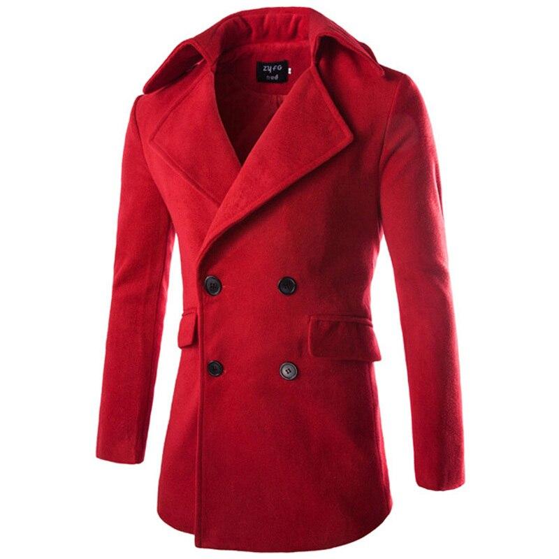 Online Get Cheap Red Overcoat Men -Aliexpress.com | Alibaba Group