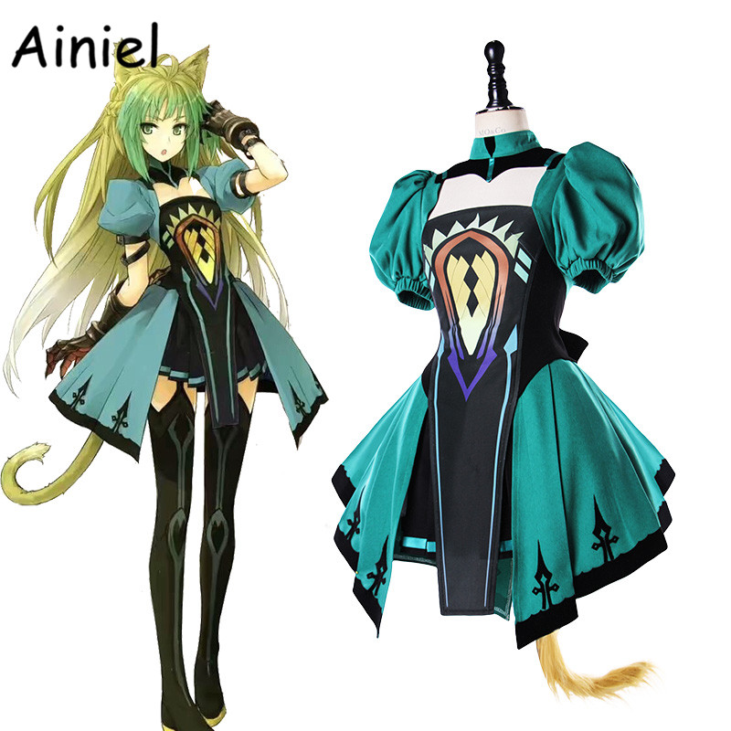 Ainiel FGO Fate Grand Order Suit Fate Apocrypha Atalanta Cosplay Costume Tube Top Dress Halloween Uniform