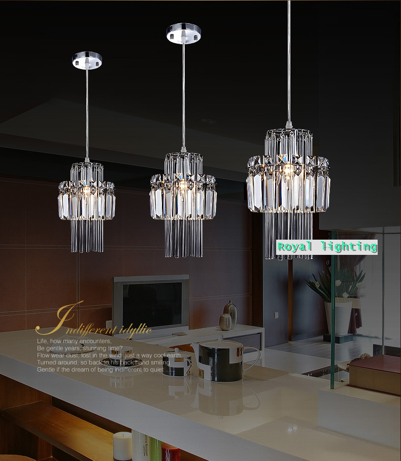 Free shipping 1 light kitchen crystal lamp dining room luxury free shipping 1 light kitchen crystal lamp dining room luxury crystal pendant light modern restaurant bar crystal lighting in pendant lights from lights mozeypictures Image collections