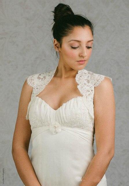 Custom Madel Wraps Hollow Back Bridal Coat Lace Jackets Wedding Capes Bolero Jacket Dress