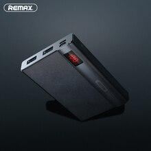 Remax LINON Pro power bank, 10000 мА/ч, двойной USB, портативный мобильный внешний аккумулятор, внешняя батарея, зарядка для Iphone 6 plus, для XiaoMi