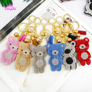 6pcs/set Cute Key Chains Carto
