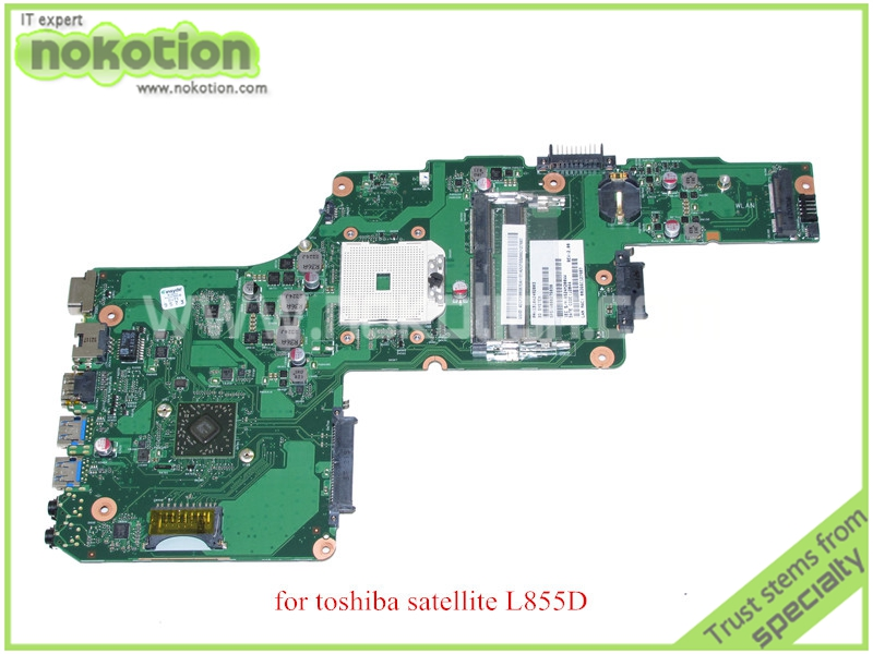 все цены на PN 1310A2492003 SPS V000275030 For toshiba satellite L855D AMD motherboard DDR3 онлайн
