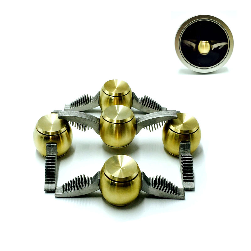 Newest Spinner Golden Snitch Harry Potter Fans Fidget Spinner Metal Finger Spinner Anti Relieve Stress Hand