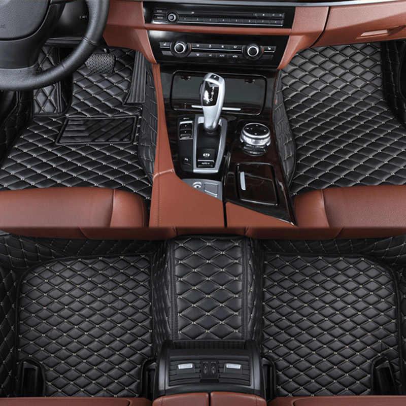 Автомобильные коврики для Toyota Corolla Camry Rav4 Auris Prius Yalis Avensis Alphard 4runner Hilux highlander sequoia corwn пользовательские 3D