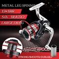 Полностью металлический алюминиевый корпус  супер качество  рыболовное колесо 13 1BB 1000-7000 серии  спиннинговая катушка  лодка  рок  наживка  ка...