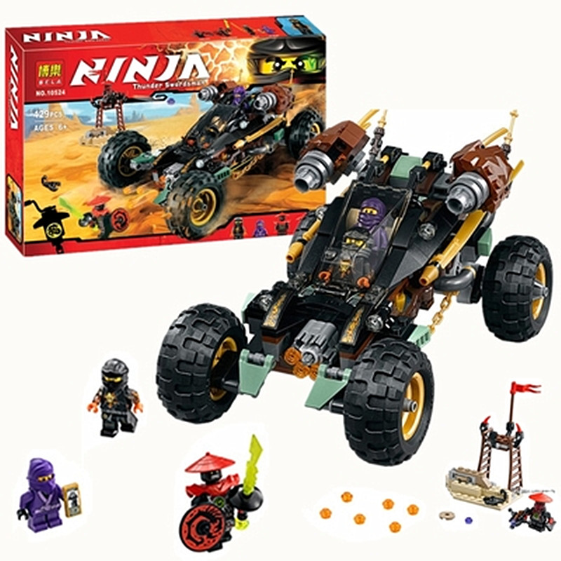 Future Knights Ninja thunder swordsman rock chariot Assemblage Building Blocks toys Compatible with Famous brand for boy gifts