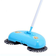Cheapest prices 2017 New Arrival 360 Rotary Home Use Crab Manual Telescopic Floor Dust Sweeper High quality F20