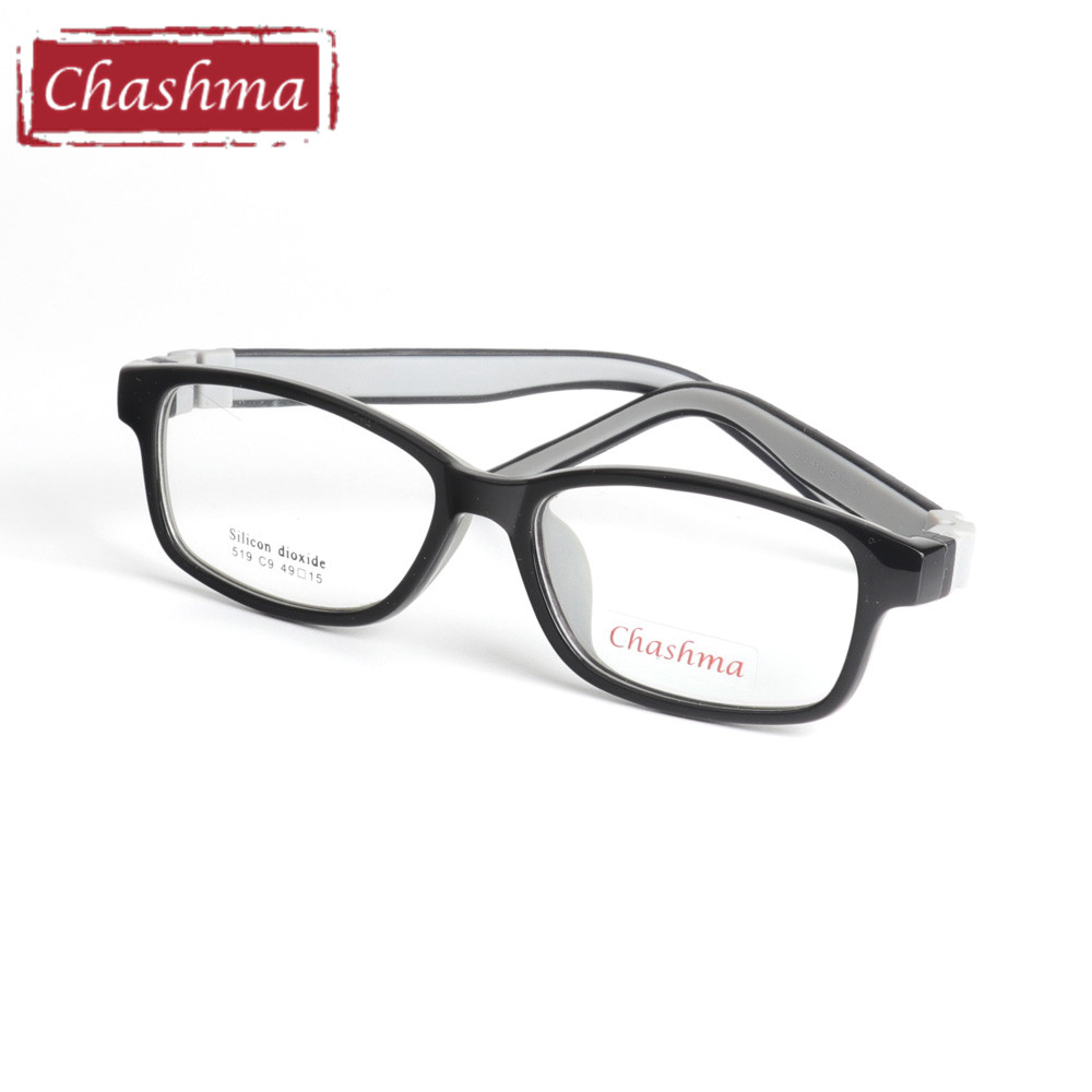 e5c3675b3d6 Chashma Quality Silicone Rubber Material Frame Children Eyewear Kids  Optical Glasses Frame Girls Boys Soft Eyeglasses