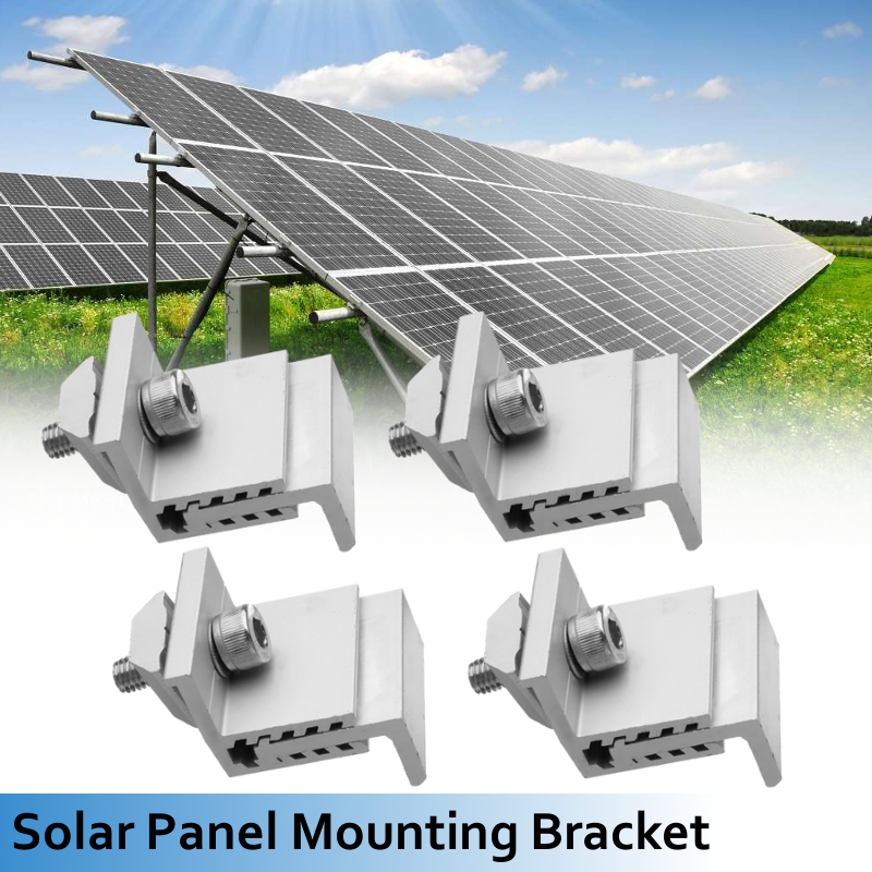 Solar Panel Mounting Bracket Photovoltaic Support 35mm To 50mm Single Stainless Steel Solar System Accessories