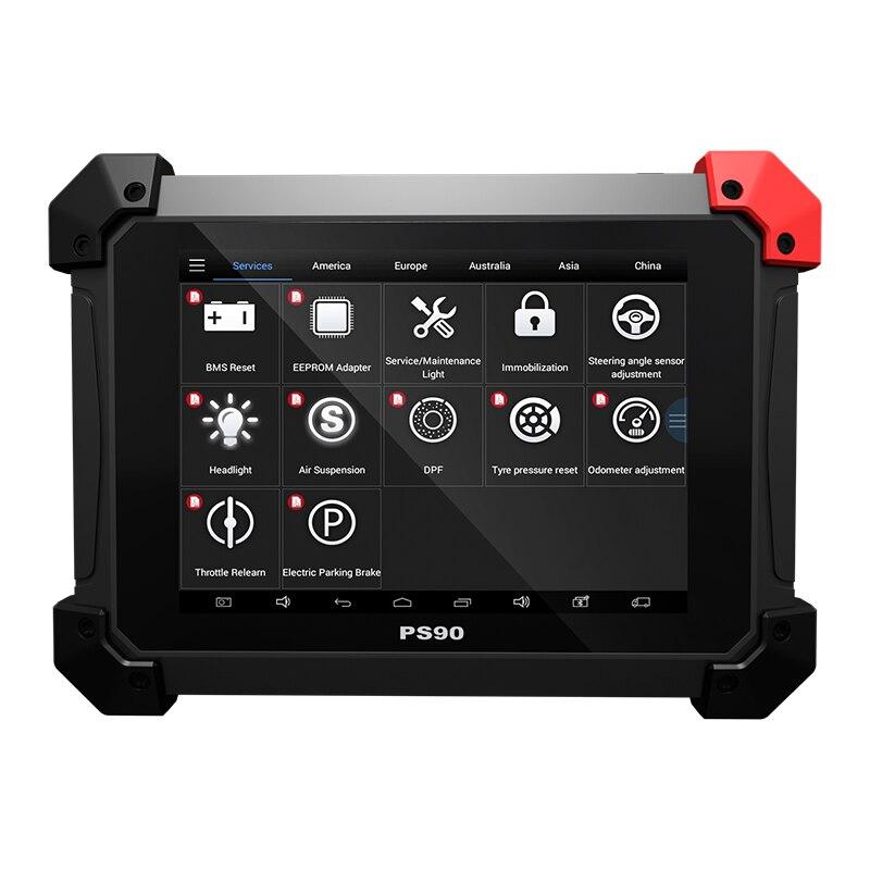 100% D'origine XTOOL PS90 Système De Diagnostic Automobile Outil Vie Mise À Jour En Ligne Code Reader Programmeur principal Même Comme EZ500 EZ400 Pro