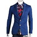 Мужчины Blazer Костюмы masculino pied de poule Британский Случайные Работы Офиса Классический Blasers пальто Терно Masculino куртки A031