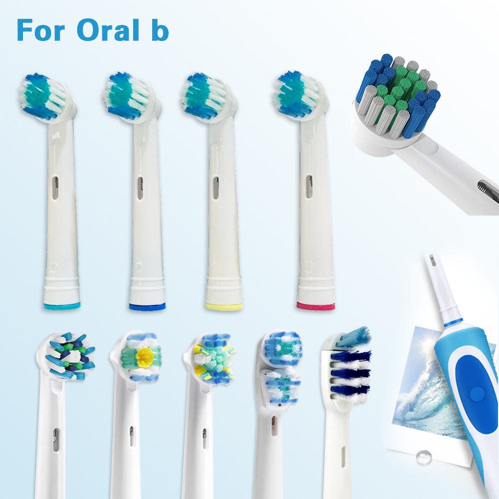 Toothbrush-Heads Oral-B Vitality Oral-B-Replacement D12.513 Electric White For Compatible