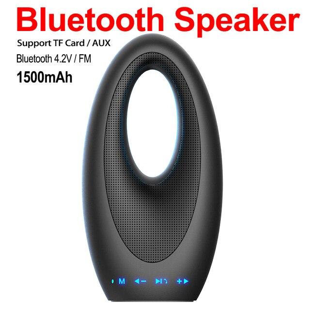 Sang trọng Thuyền Khách Sạn Nghệ Thuật Loa Bluetooth Di Động với Đài Phát Thanh Hỗ Trợ TF Thẻ Cảm Ứng Máy Tính Để Bàn cho Điện Thoại Di Động Ipad TV PC