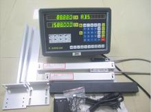 2 Axis digital readout Display for milling lathe machine with linear scale