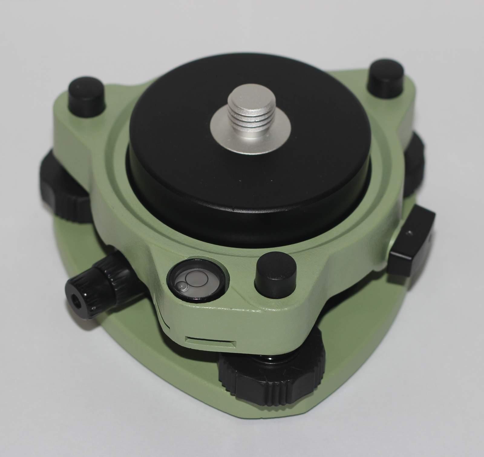"NEW Tribrach w/Optical Plummet & Rotating Adapter 5/8""x11 Mount for GPS PRISM"