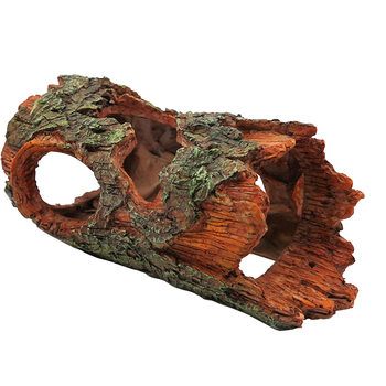 Simulation Resin Tree Bark Hiding Cave 1