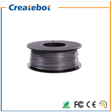 Sliver Color 3d printer filament ABS 1.75mm 3mm 1kg/roll for MakerBot/RepRap/Createbot 3d printer Hot sale