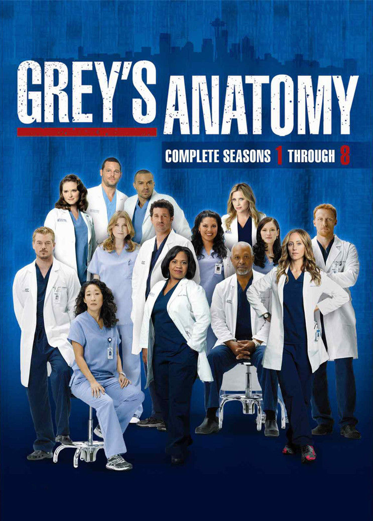 Greys Anatomy Tv Show Poster 17 X 13 Decor 02 In Painting
